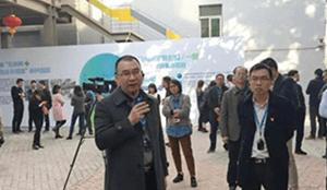 桂城街道办事处党工委委员余辉、桂城街道经济促进局副局长岑学勤